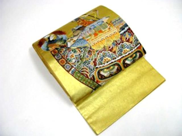 質みよし買取実績正絹袋帯(人間国宝)