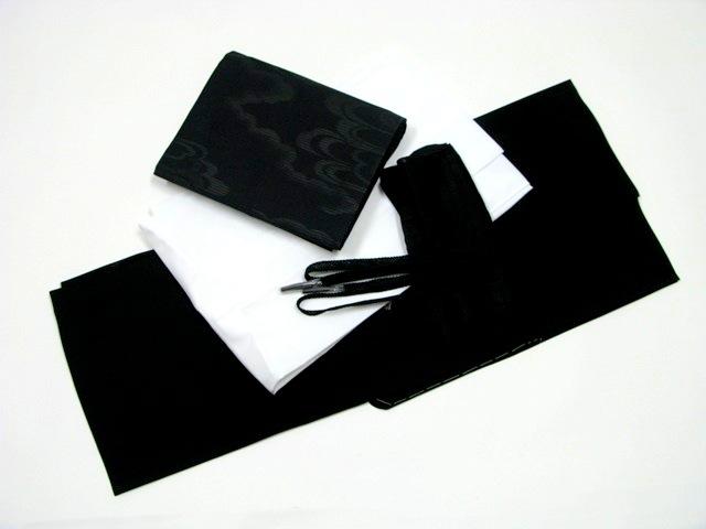 質みよし買取実績正絹喪服・長襦袢・名古屋帯・帯揚げ・帯締め